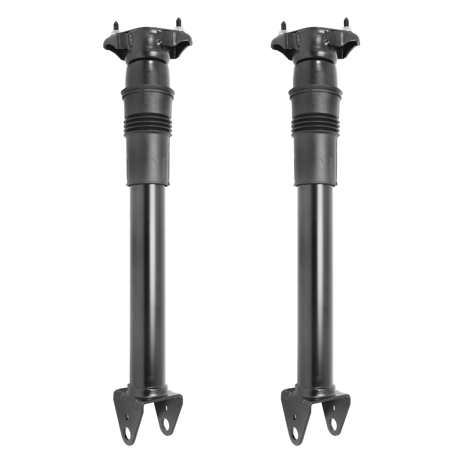 Pair of Rear Gas Shock Absorbers for Suspension in Mercedes GL, GLE & ML Class W166 X166