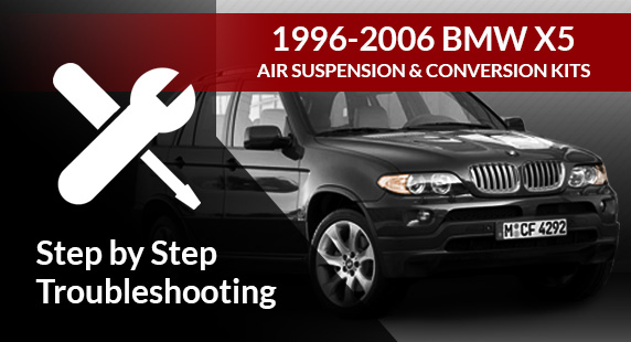 BMW X5 E53 Air Suspension Diagnosis and Troubleshooting