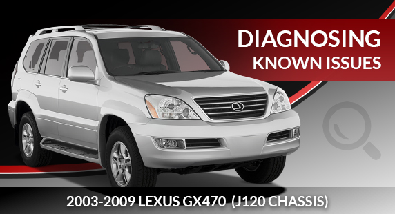 Lexus GX470 Air Suspension Diagnosis