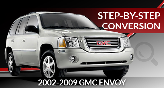2002-2009 GMC Envoy Rear Air Suspension to Conventional Coil Spring Conversion