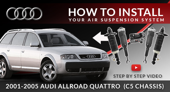 When Your Audi Allroad Quattro C5 Suspension Fails-Step by Step Troubleshooting, DIY Installation, Tips & Torque Specs