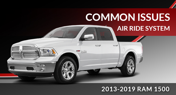Diagnosing Common Issues with the 4-Corner Air Suspension System in the 2013-2019 RAM 1500