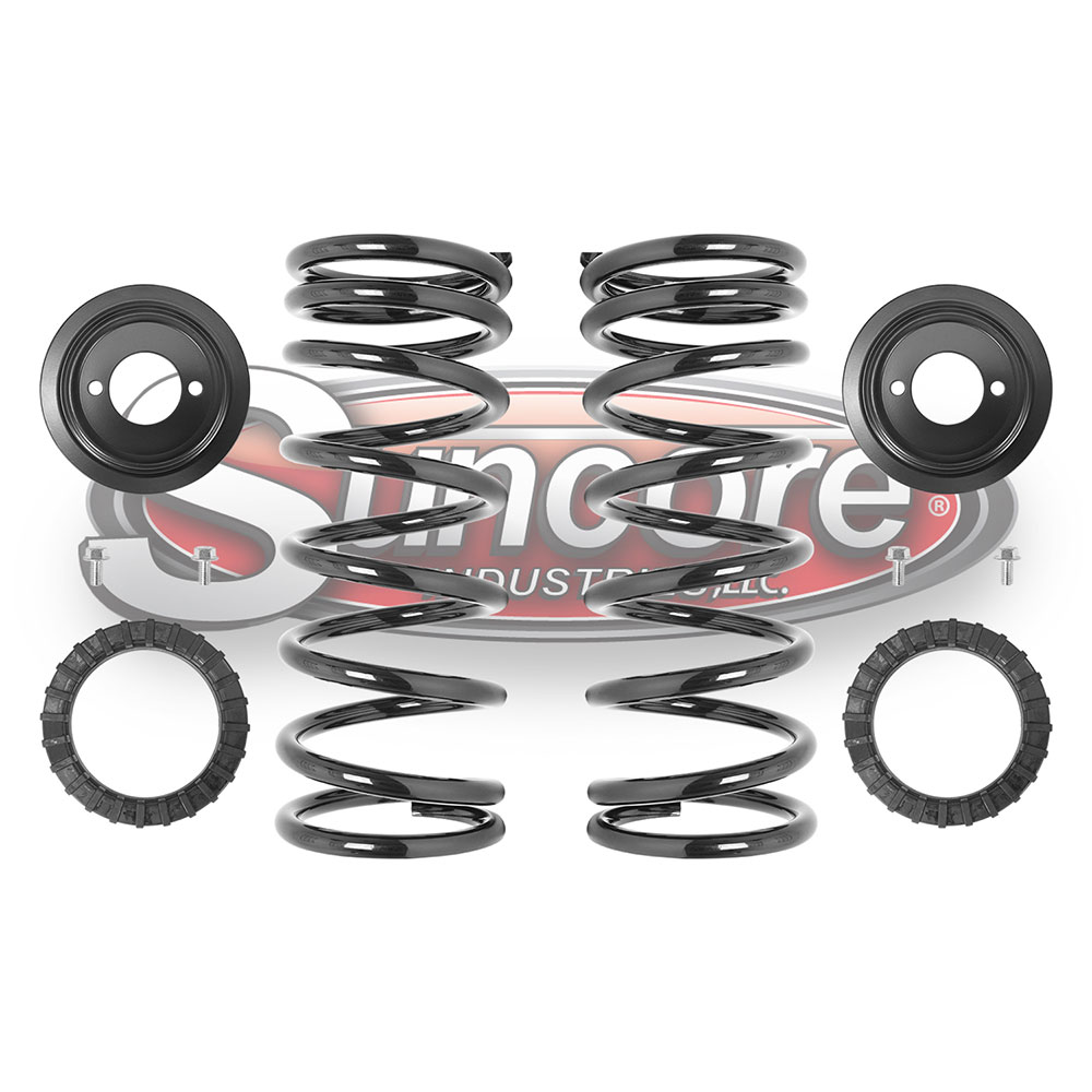 L318 Air Suspension Air to Heavy Duty Coil Spring Conversion Kit Rear Pair - Land Rover Discovery
