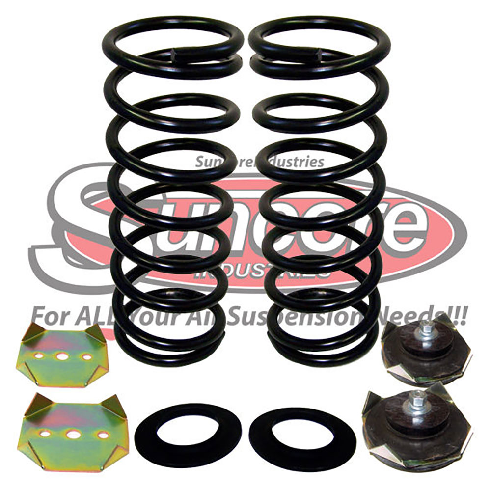 L318 Air Suspension Air Springs to Coil Springs Conversion Kit Rear Pairs - Land Rover Discovery