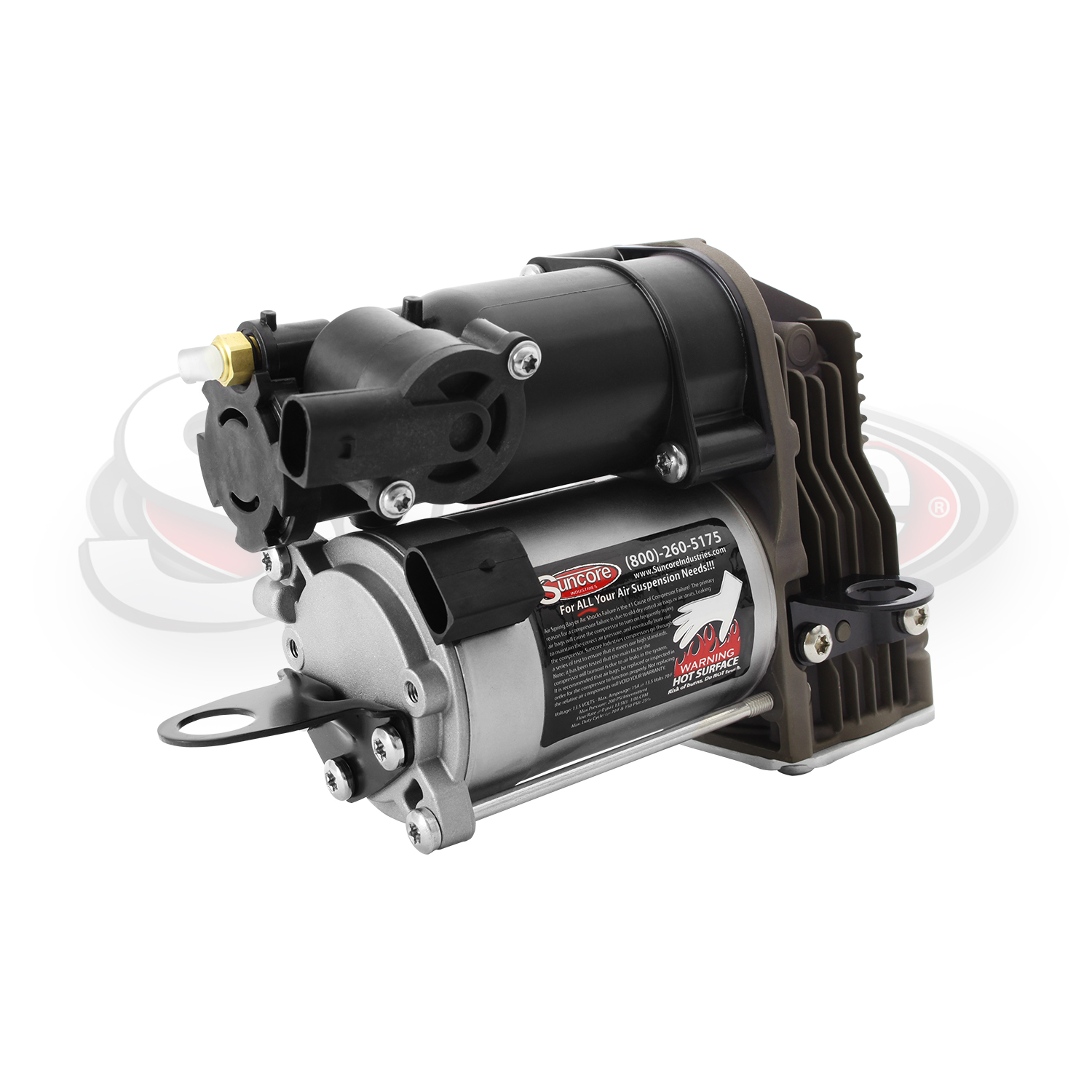 Airmatic Suspension Air Compressor Pump New -CL & S Class Repl. 2213201704