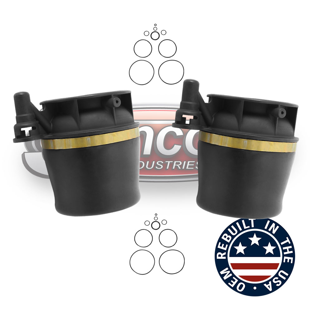 Air Suspension Remanufactured OEM Air Springs Rear Pair - Expedition & Navigator