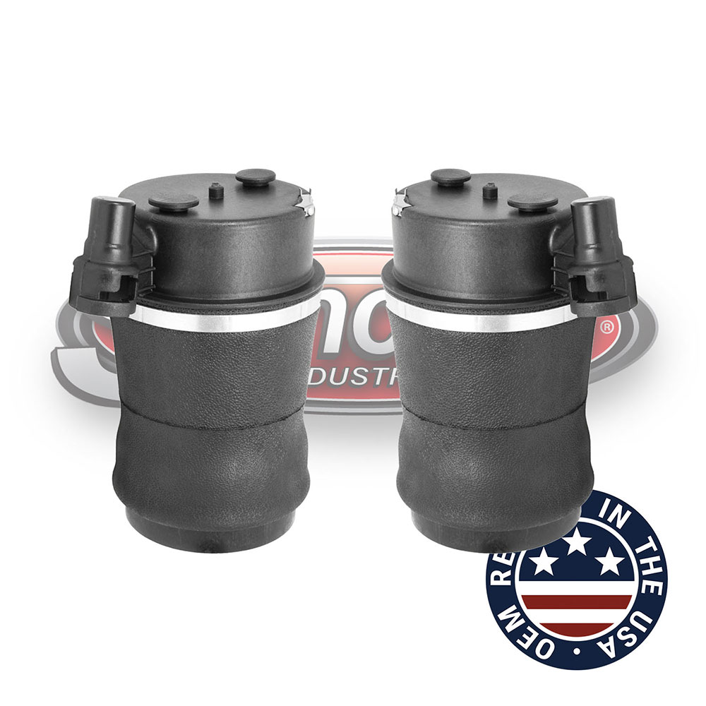 suncore industries air suspension remanufactured oem air springs rear pair lincoln mark viii