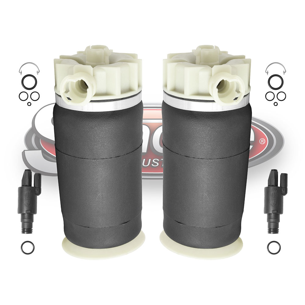 Air Suspension Air Springs with Solenoid Valves Rear Pair - Ford Windstar