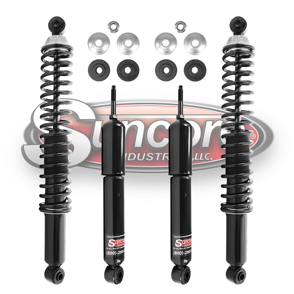 Electronic Active Suspension to Heavy Duty Passive Gas Shock Absorbers Bundle - Chevy & GMC