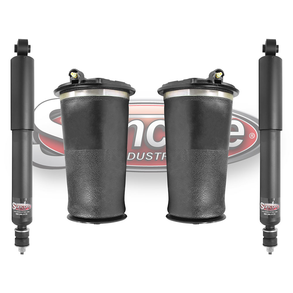 P38A Air Suspension Generation II Air Springs with Gas Shock Absorbers Rear Pairs - Land Rover Range Rover
