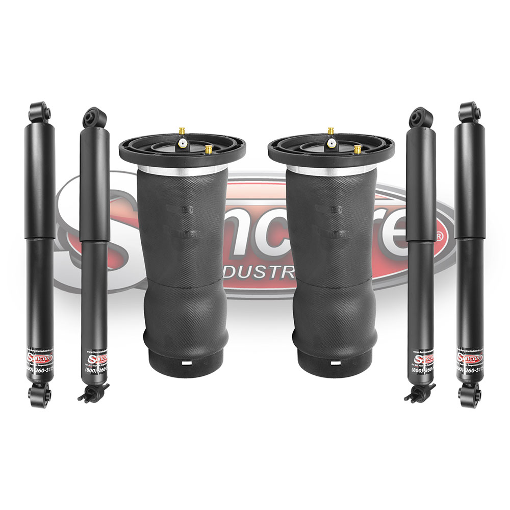 L318 Air Suspension Air Springs with Heavy Duty Gas Shocks Bundle - Land Rover Discovery
