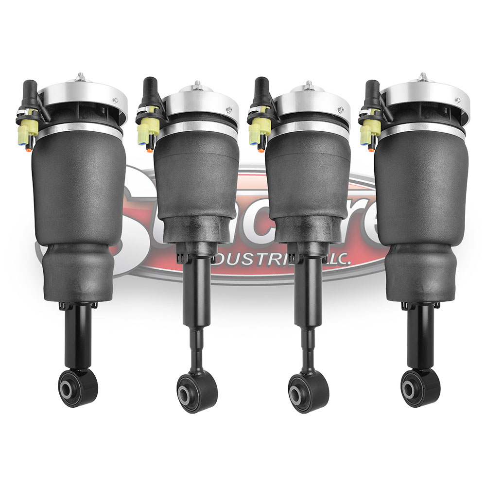 Air Ride Air Struts Bundle with Solenoid Valves - Navigator and Expedition