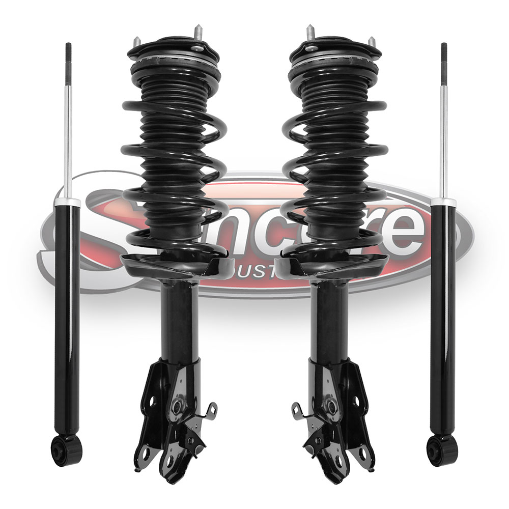 Front Quick Install Strut Assemblies & Rear Shock Absorber Bundle - Honda Civic Sedan