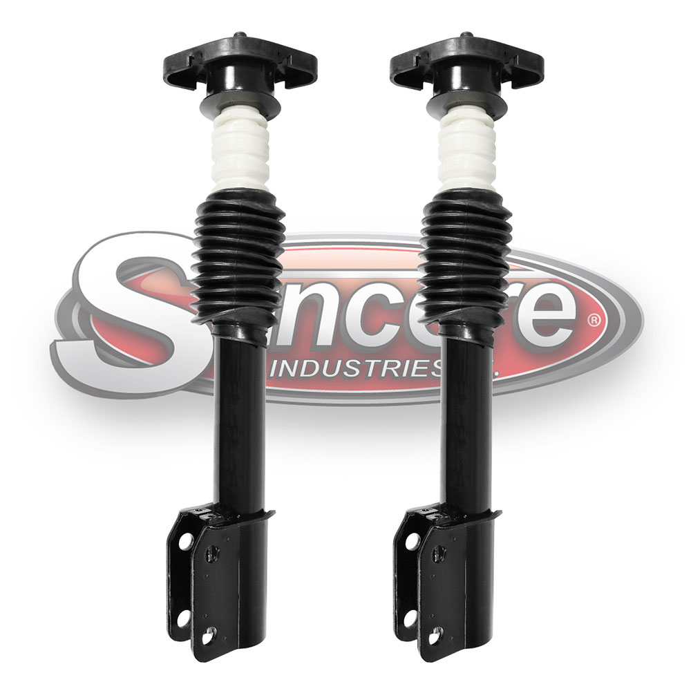 Quick Install Strut Assemblies Rear Pair - GM