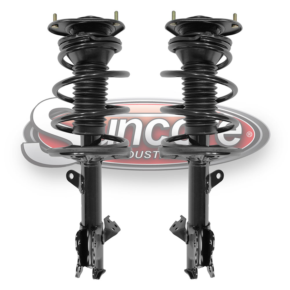 Quick Install Complete Strut Assemblies Front Pair - Toyota Prius