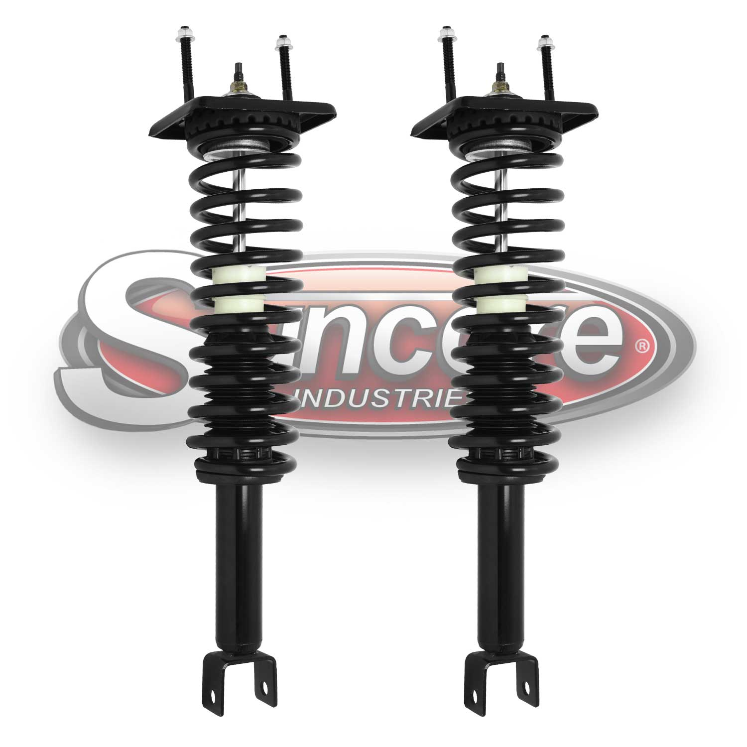 Rear Pair of Quick Complete Strut & Spring Assemblies- 96-98 Sebring Convertible