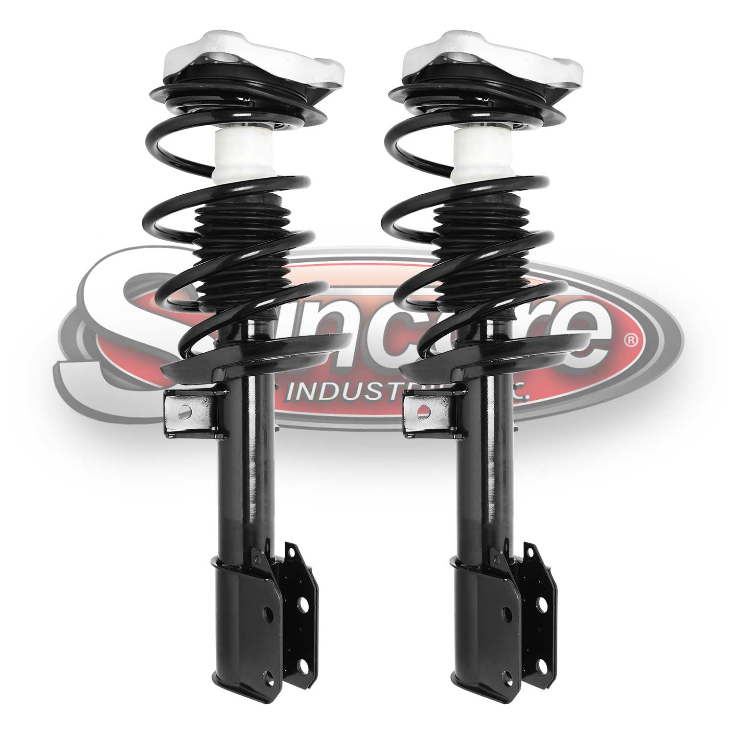 Front Pair of Quick Complete Struts & Springs - Mercedes-Benz GLK250 & GLK350