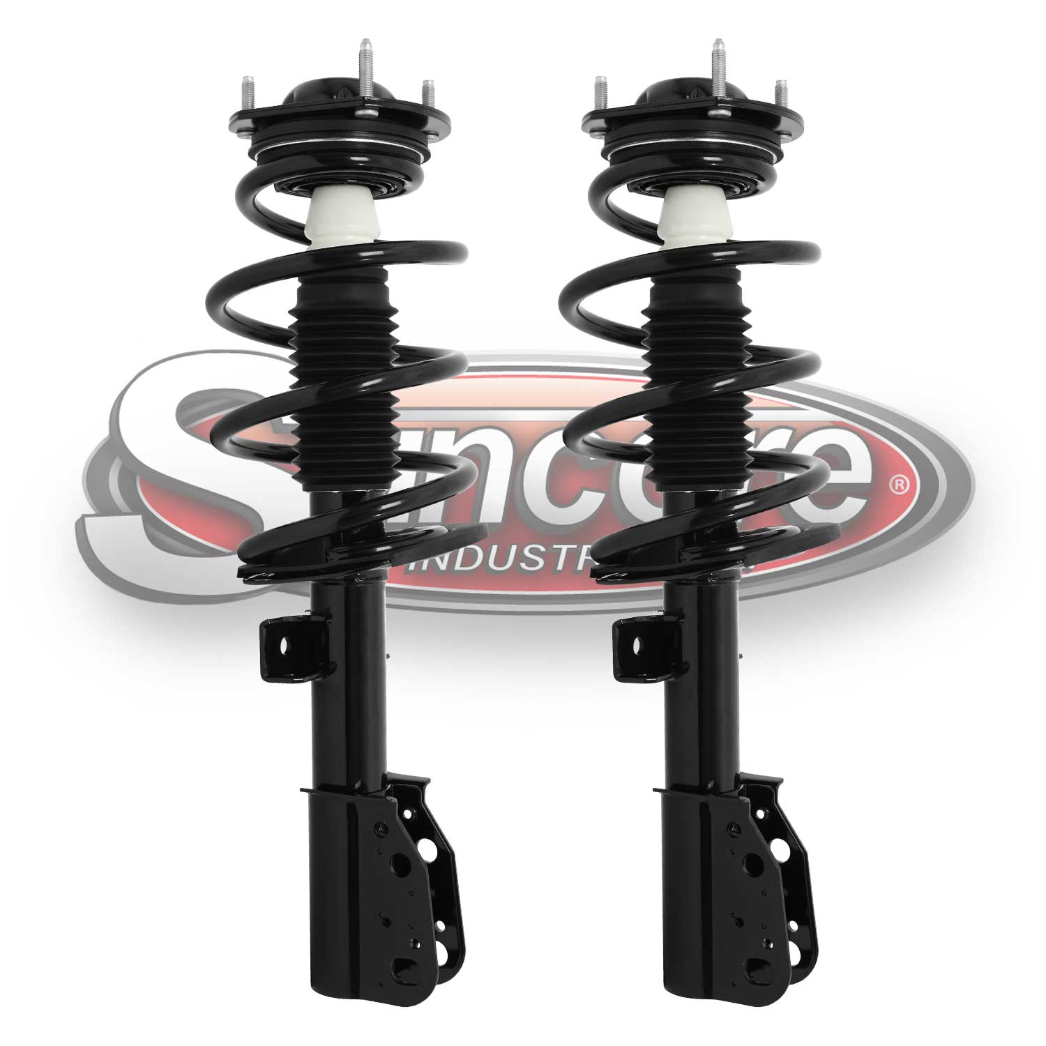 Front Pair Quick Complete Struts & Springs- 13-17 Enclave Traverse, 13-16 Acadia