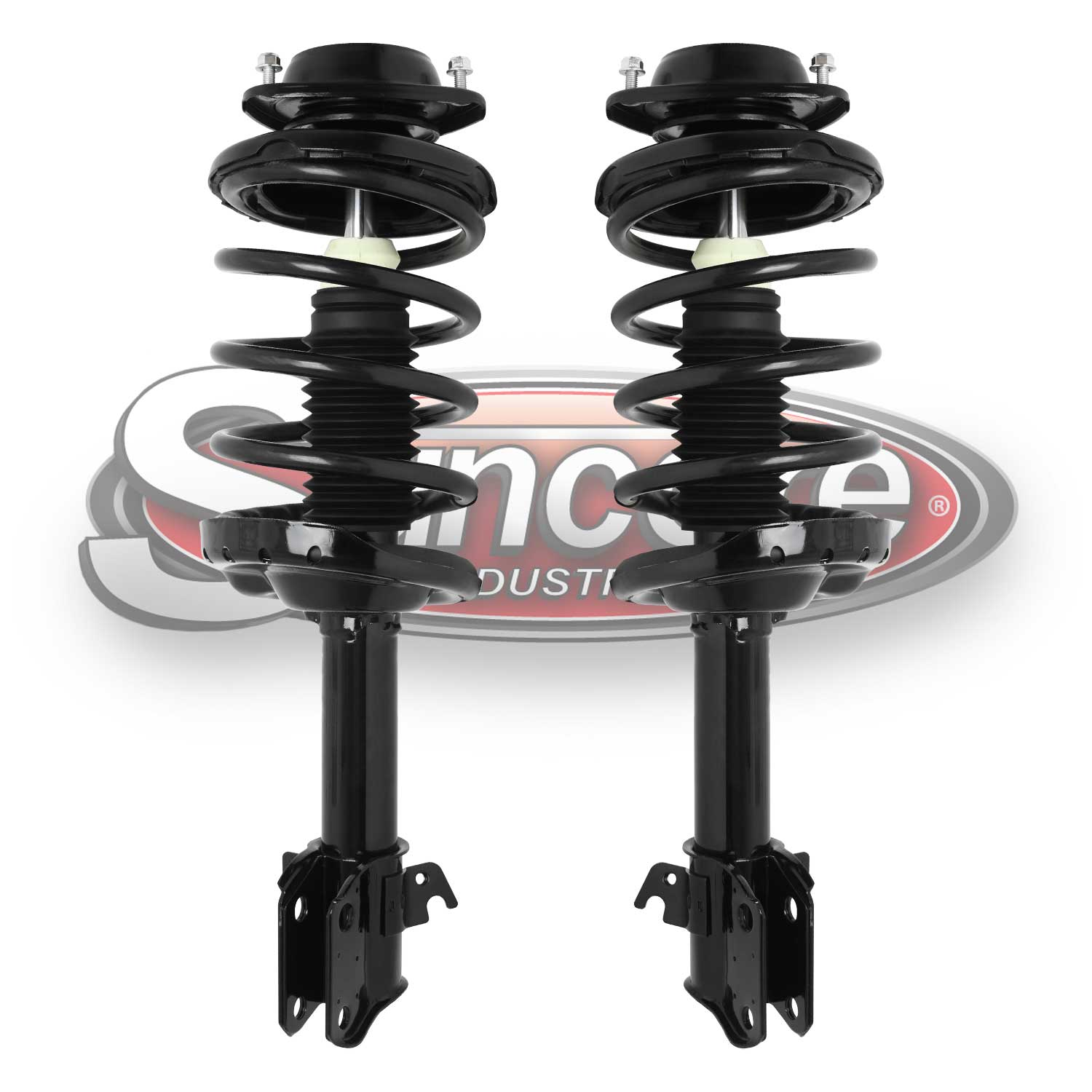 Front Pair of Quick Complete Strut & Spring Assemblies- 2010-2012 Subaru Outback
