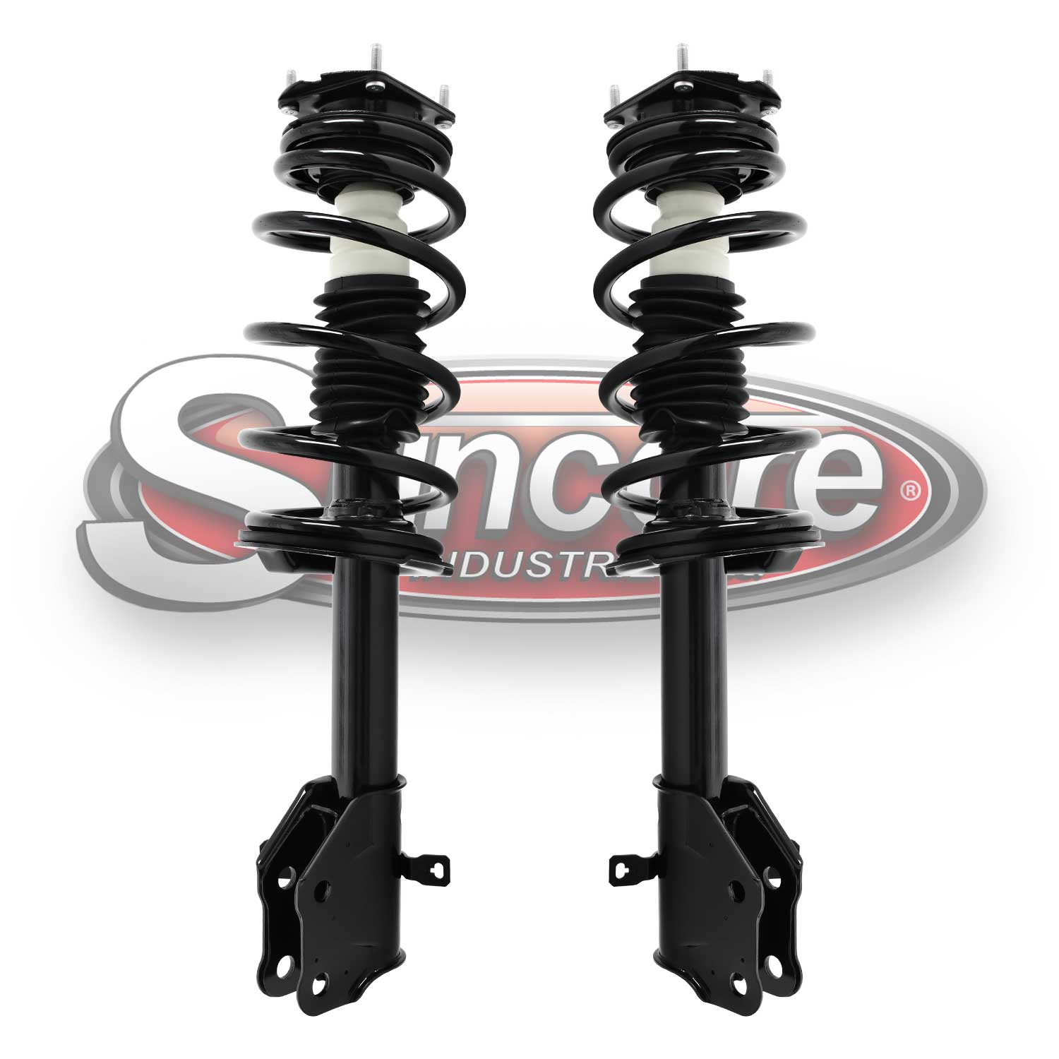 Front Pair of Quick Complete Strut & Spring Assemblies - Ford Edge & Lincoln MKX