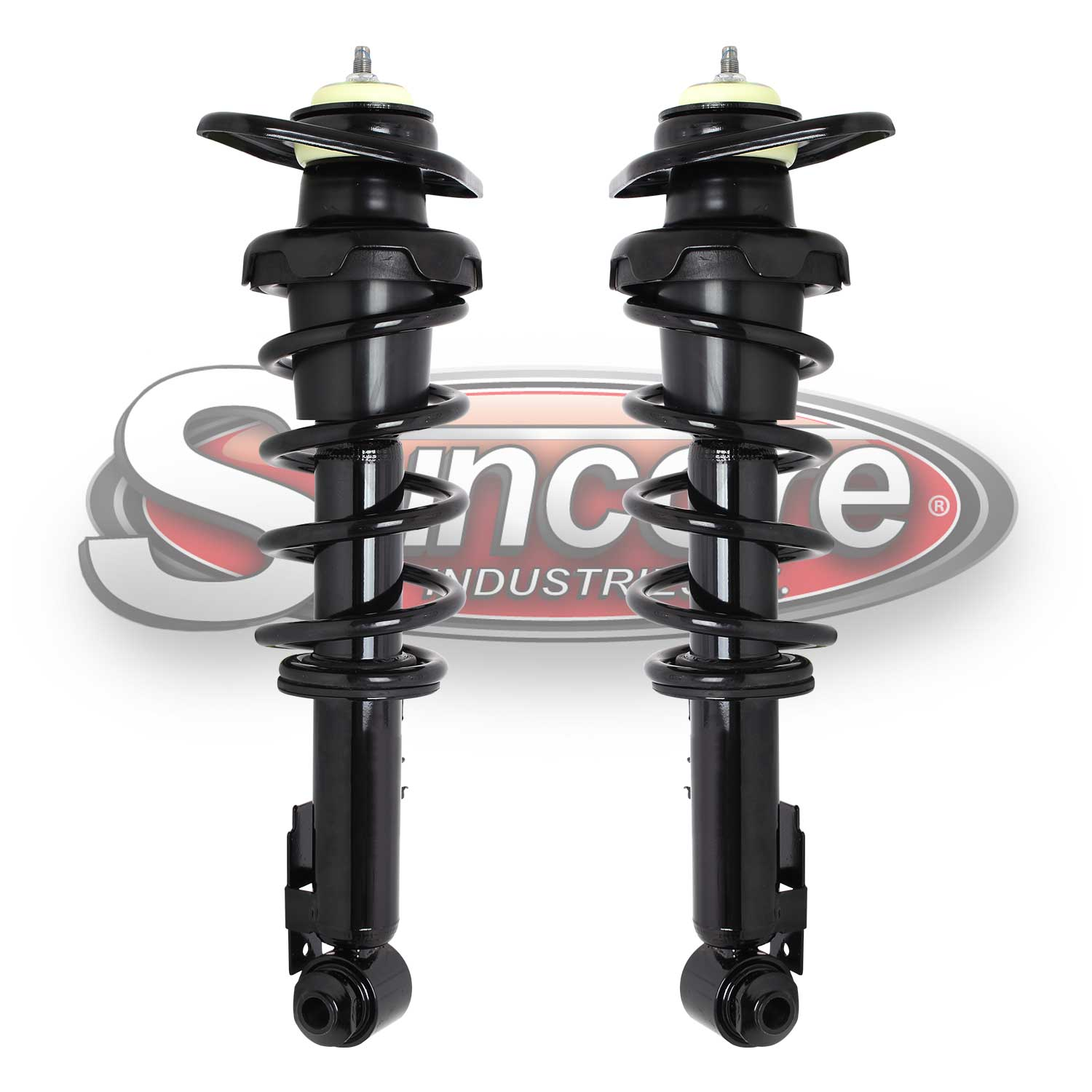 Rear Pair of Quick Complete Strut & Spring Assemblies - 2007-2014 Mini Cooper