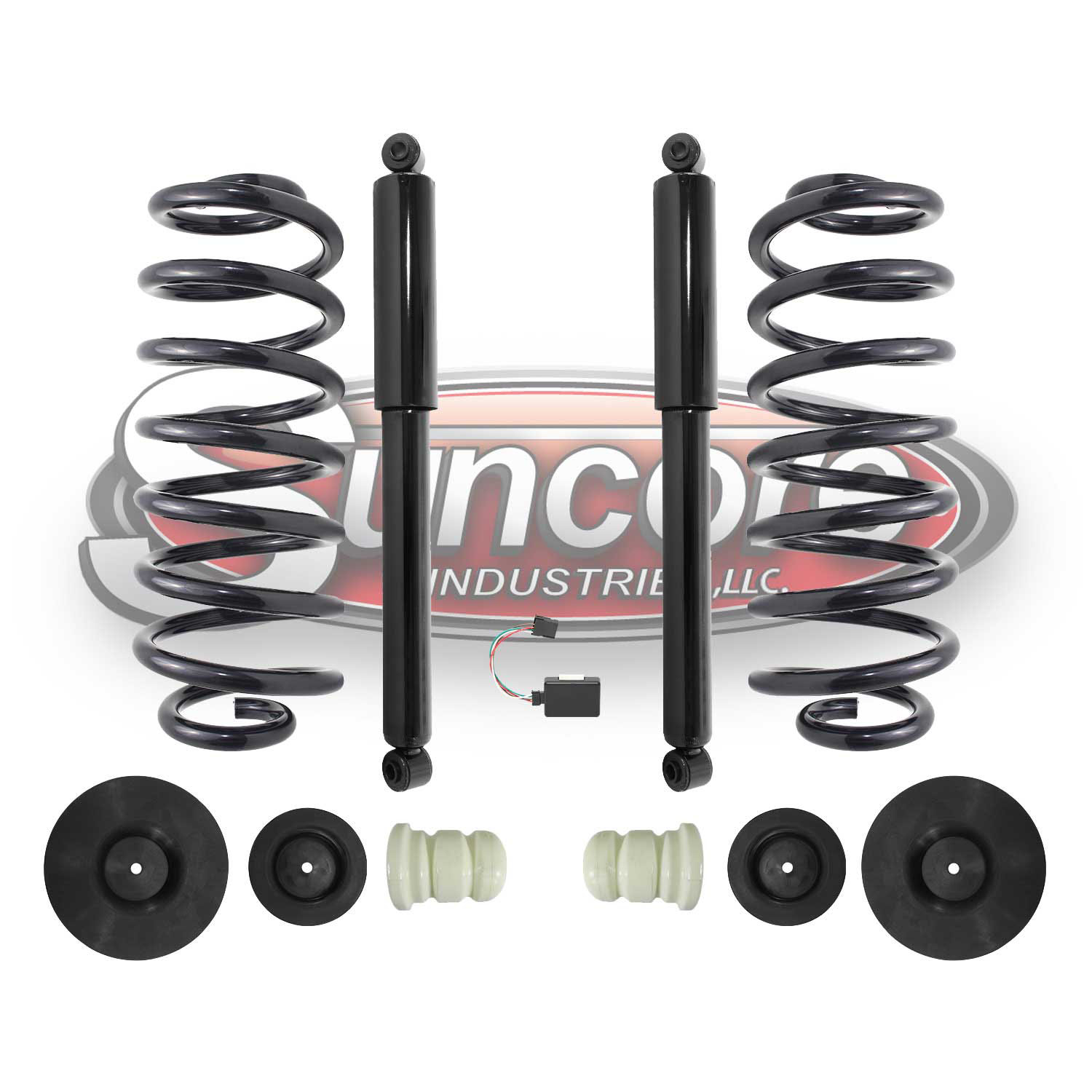 Rear Air to Shock & Coil Conversion Kit - 2007-2014 Cadillac Chevrolet & GMC LWB