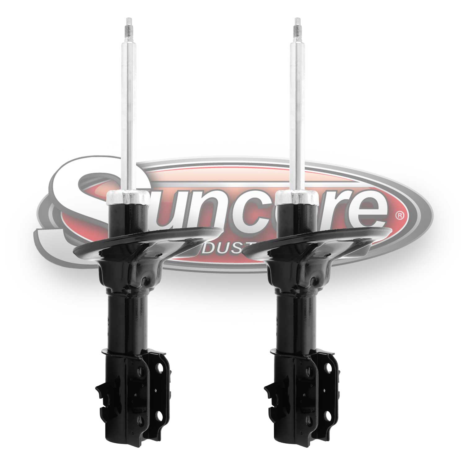 Pair of Front Suspension Bare Strut Assemblies - 1990-1996 Ford Mazda & Mercury